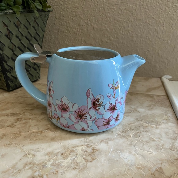 Alfred Ceramic and Stainless Steel Teapot